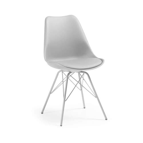 Zadie Designer Chair - Grey