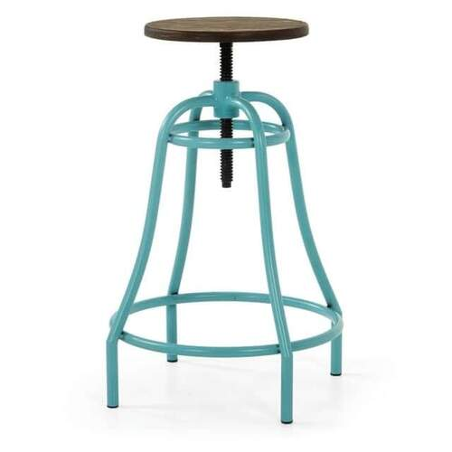 SET OF 2 Danae Outdoor Barstool - Turquoise