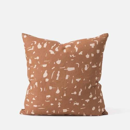 Still Life Cushion - Malt/Biscuit