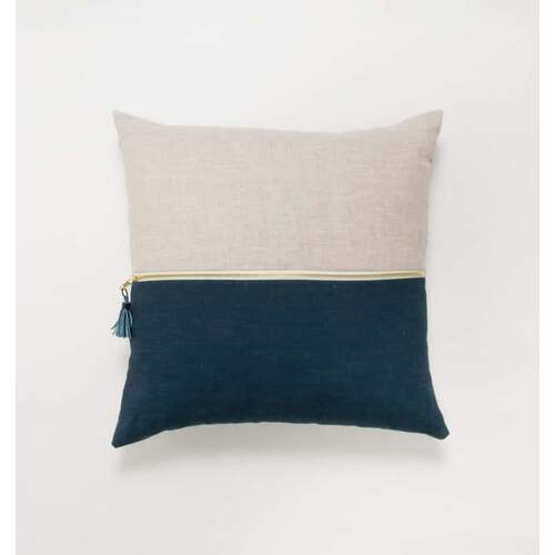 August Cushion - Blue