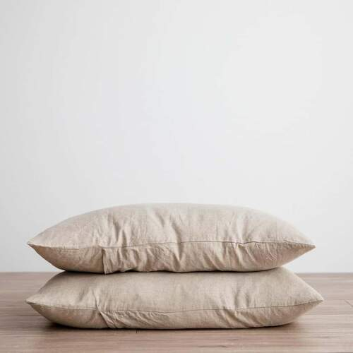 Linen Pillowcases - Natural