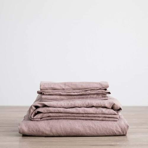 Linen Sheet Set - Dusk [Size: Queen]