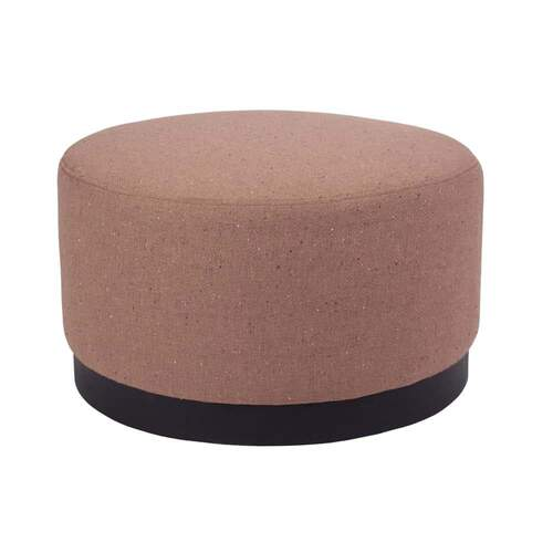 Tribeca Ottoman Medium - Woli Clay