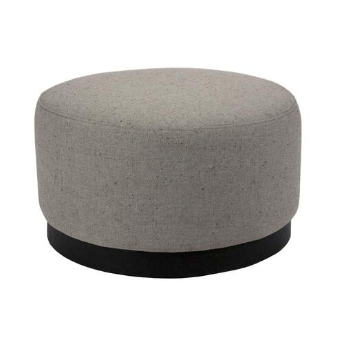 Tribeca Ottoman Medium - Woli Grey