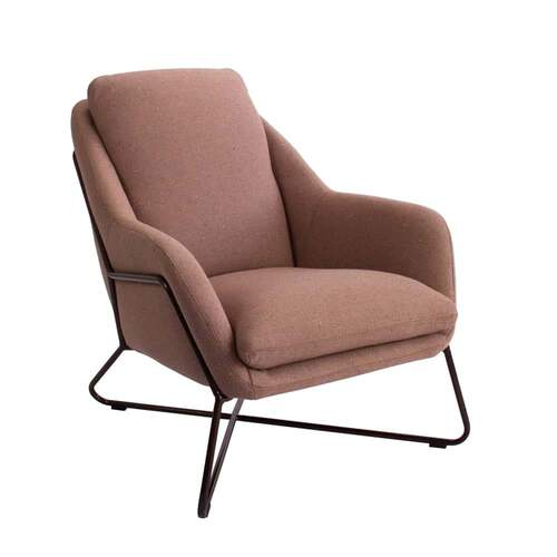 Tribeca Chair - Woli Clay / Black Leg