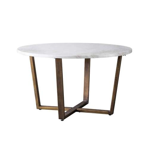 Harlow Coffee Table - White Marble