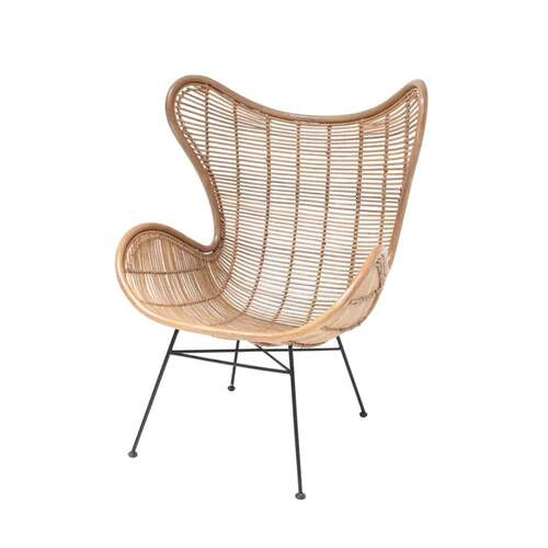 Rattan Egg Chair - Natural