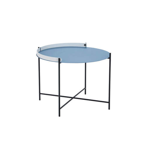 Edge Tray Coffee Table 62cm - Pigeon Blue