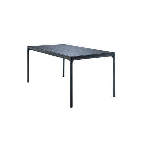 Four Outdoor Dining Table 160cm - Black