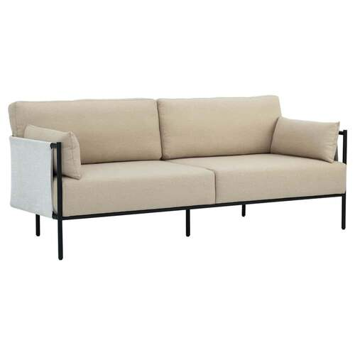 Alison 3 Seater Sofa - Tortilla/White Grey