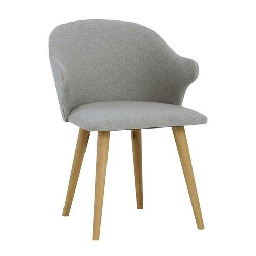 Ashley Dining Chair - Oak/Dolphin
