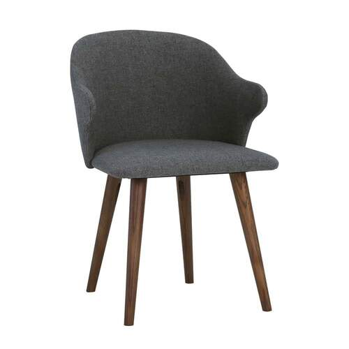 Ashley Dining Chair - Cocoa/Battleship