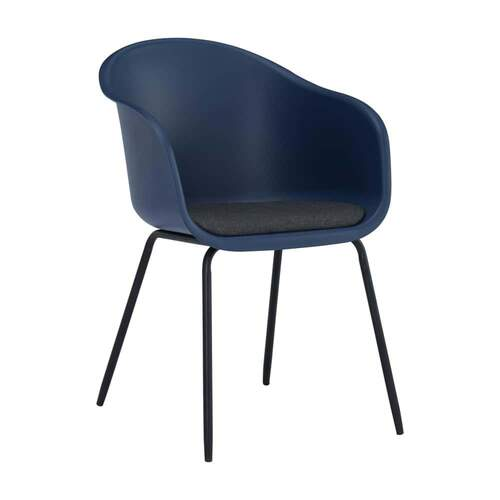 Set of 2 - Jesse Chair - Blue/Paloma