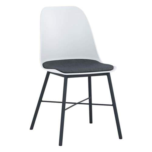Set of 2 - Rena Dining Chair - Black/White