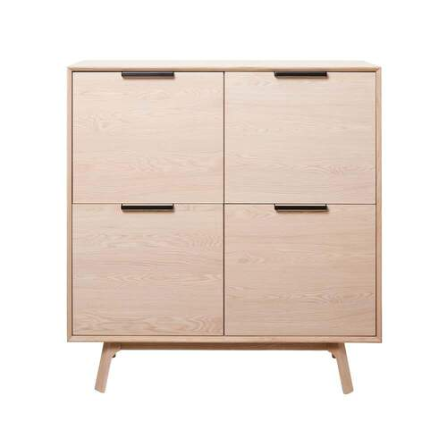 Bridgette Tall Sideboard 1.2M - Natural