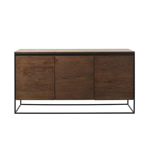 Zach Sideboard - Black / Smoked Oak