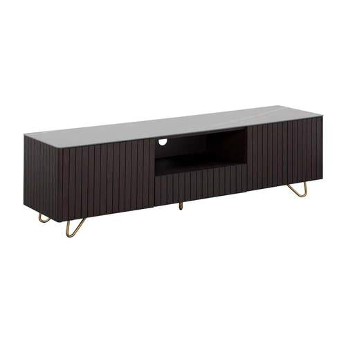 Colby Entertainment Unit - Ceramic / Smoke Ash
