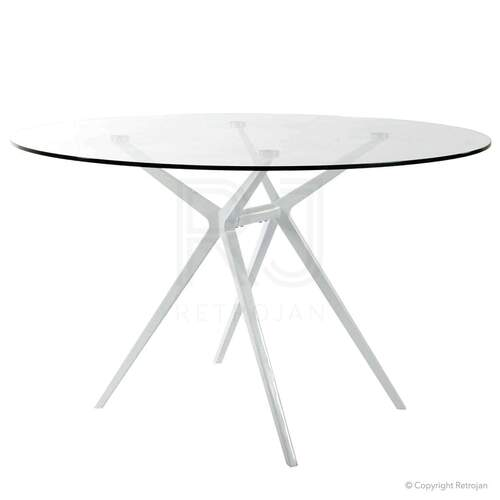 Replica Achille Castiglioni Ajax Glass Dining Table