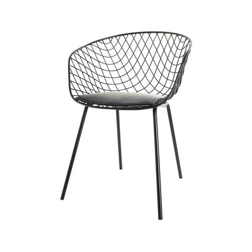 Cage Dining Chair - Black