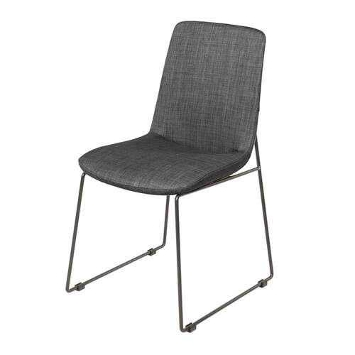 Axel Dining Chair - Dark Grey