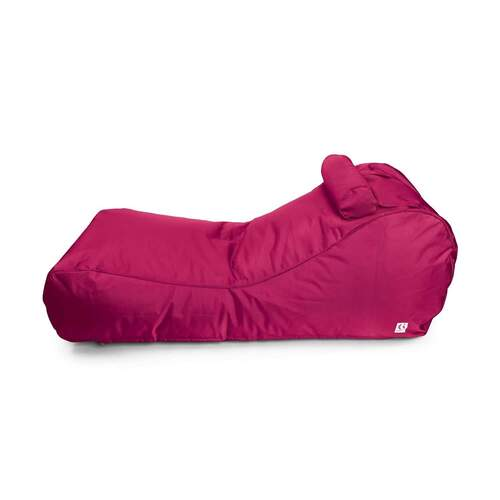 Canggu Contour Lounger Outdoor Bean Bag - Pink