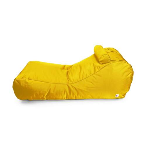 Indosoul Canggu Contour Lounger Outdoor Bean Bag - Yellow