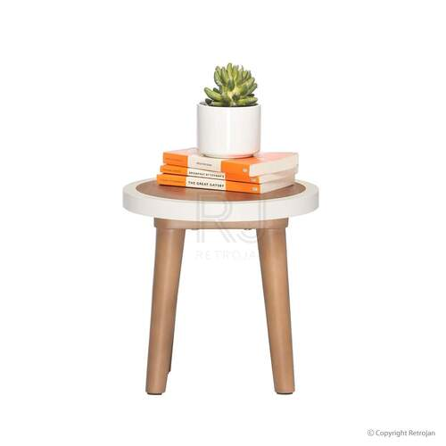 Britt Scandinavian Style Stool / Side Table