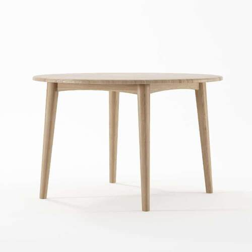 Grasshopper Rnd Dining Table 120cm Oak