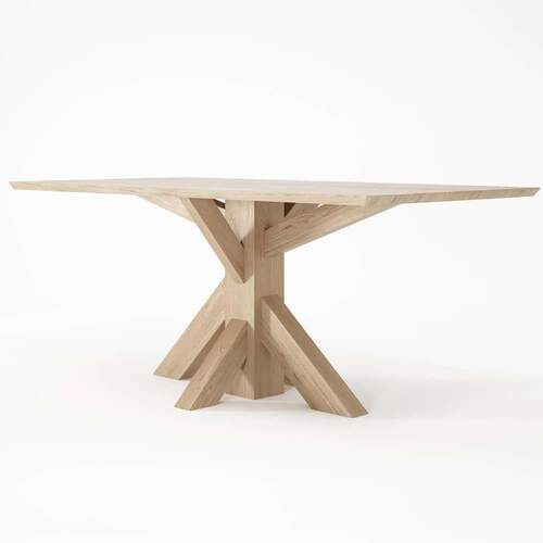 Ki Rect Dining Table 180cm Oak