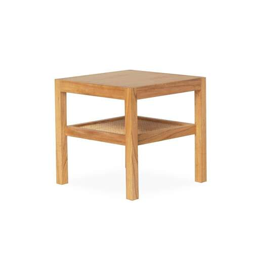 Abode Rattan Side Table - Natural