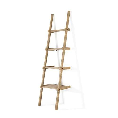 Simply City Ladder Shelves - Oak