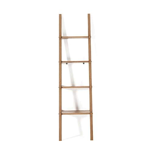 Simply City Ladder Shelves - Teak