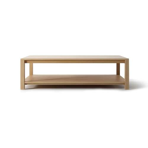 Solid Coffee Table - Oak