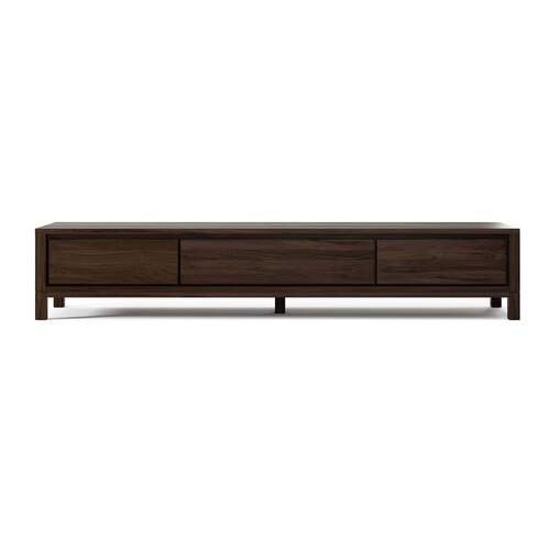 Solid TV Chest 180cm - Walnut