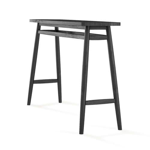 Twist Console Table 120cm - Satin Black