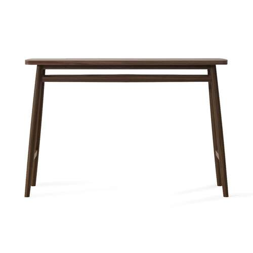 Twist Console Table 120cm - Walnut
