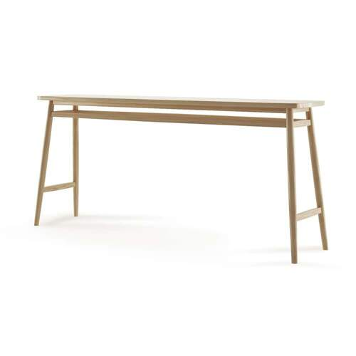 Twist Console Table 180cm - Oak