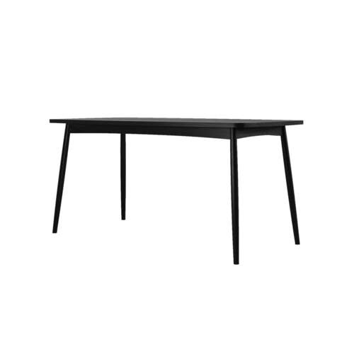 Twist Dining Table 160cm - Satin Black