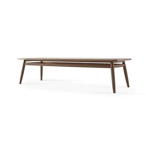 Twist Coffee Table 160cm - Teak