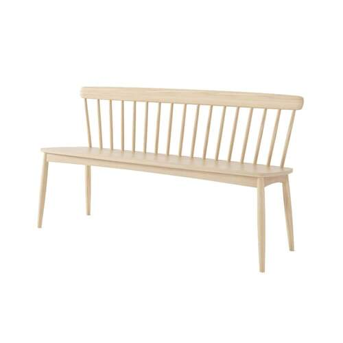 Twist Bench - Oak