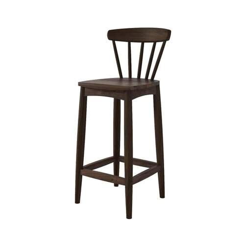 Twist Counter Stool - Walnut