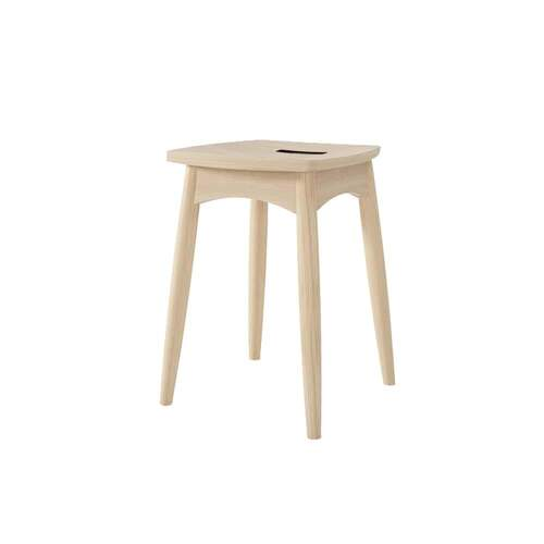 Twist Stool - Oak