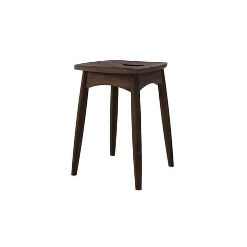 Twist Stool - Walnut