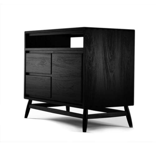 Twist Sideboard - Satin Black