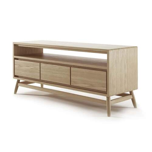 Twist TV Unit - Oak