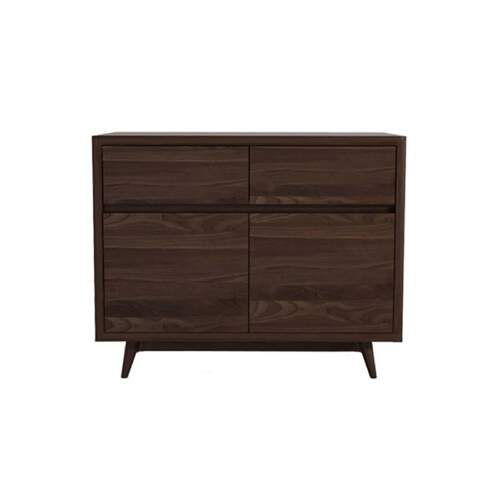 Vintage Sideboard 2 Door & 2 Drawer - Walnut