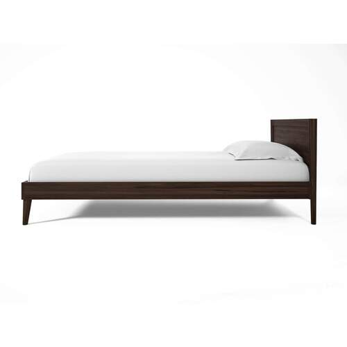 Vintage Double Bed - Walnut