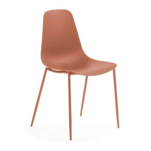 Set of 2 Bromley Dining Chair - Orange