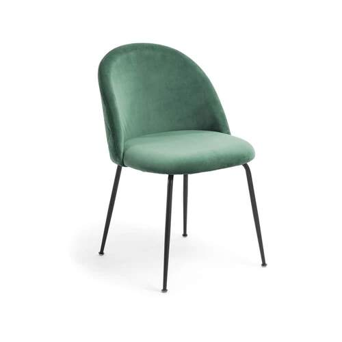 Placement Dining Chair - Emerald / Black