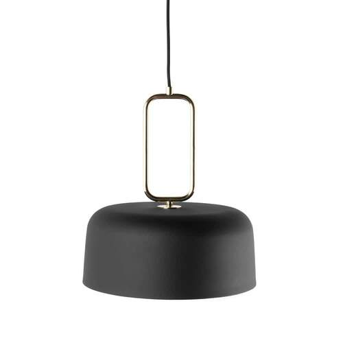 Kinetic Pendant Light - Black/Brass